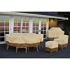 Outdoor patio furniture cover Colorful Classic Accessories Veranda Patio Furniture Cover Collection Thos Baker Patio Furniture Covers Chair Chaise Loveseat Covers Bed Bath
