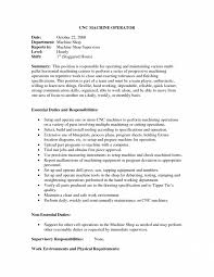 Machinist Job Description Resume Cnc Operator Job Description Template For Resume Jd Templates 23