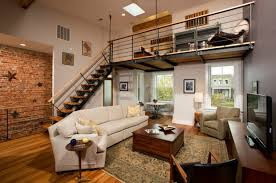 How To Make The Most Of A Large Living Space. Industrial Loft ApartmentModern  ...