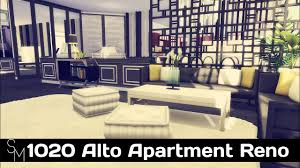 The Sims 4 Speed Build 1020 Alto Apartment Reno Cc Free Lot