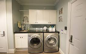 interiors traditional-laundry-room