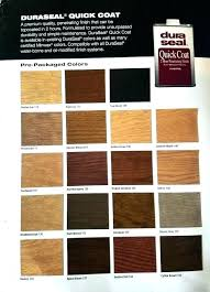 Dura Stain Color Chart Lampswat Info