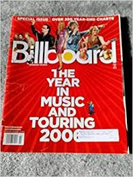 Billboard Charts 2006 The Year In Music And Touring 2006 December 23 2006
