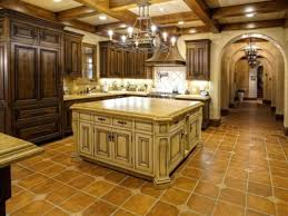 adobe tile kitchens with marble floors style kitchen with cappuccino marble and adobe tile floors photos