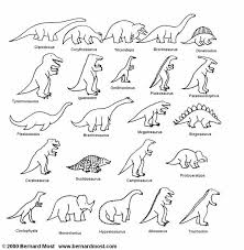 Small Picture Dinosaur Coloring Pages With Names Cecilymae