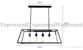 industrial rectangular chandelier rectangular metal chandelier loft pendant lamp retro industrial black iron rectangular chandelier living