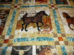Horse Quilt Pattern New Acorn Ridge Quilting Anna's Unbridled Horse Quilt
