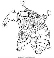 Disegno Trollhunters13 Personaggio Cartone Animato Da Colorare