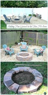 pea gravel fire pit garden fire pit pea gravel patio instruction garden patio projects free plans pea gravel fire pit