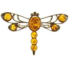 Brooches & Pins <b>Jewelry</b> BALTIC AMBER AND STERLING SILVER ...