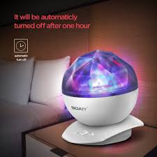 Soaiy Night Light Projector Soaiy Rotation Sleep Soothing Color Changing Aurora Night