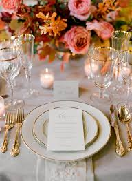 Table Setting Example Wedding Table Settings Victorian