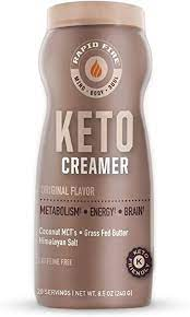 Sugar can be a cause of spikes in your insulin levels, which decrease the ketosis. Amazon Com Rapid Fire Ketogenic Creamer With Mct Oil For Coffee Or Tea Supports Energy And Metabolism Weight Loss Ketogenic Diet 8 5 Oz 20 Servings Health Personal Care