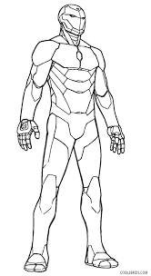 Ironman Coloring Free Printable Iron Man Coloring Pages For Kids