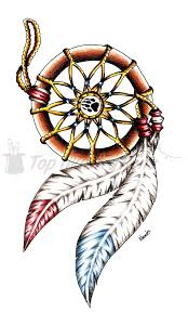 Cherokee Indian Dream Catcher Collection of 100 Indian Dream Catcher Armband Tattoo Design 52