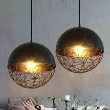 led pendant lamps american industrial pendant lights fixture metal vintage hanging lamp home indoor lighting retro drop light cafes pub lamp glass ceiling