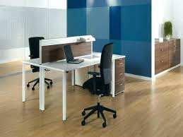 Two Person Office Design 2 Desk For Home Inspiring  Magnificent Furniture P1