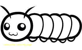 Coloring Pages Food Caterpillar Coloring Page With Hungry Fruit