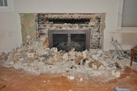 popular houseupdated com how to remove ugly stone fireplace