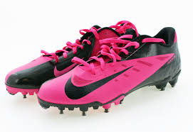 nike football cleats. nike men\u0027s vapor talon elite 500068 low top breast cancer pink football cleats d