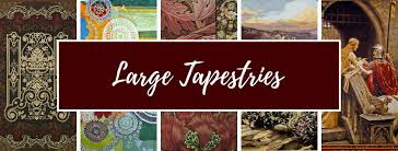 extra large wall tapestries art