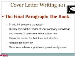 4 sentence cover letter cover letters and applications