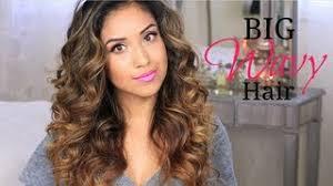 big wavy hair tutorial give a way
