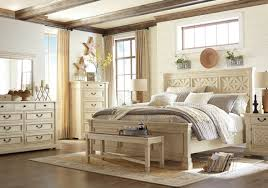 COVENTRY - Traditional White Wood Queen Panel Bedroom Furniture- 5 pieces Set