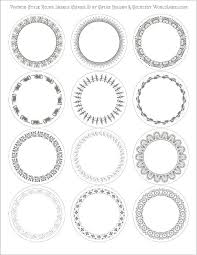 4 Circle Venn Diagram Template Free Circle Template 1 Inch Circle Template Unique Printable 4 Inch