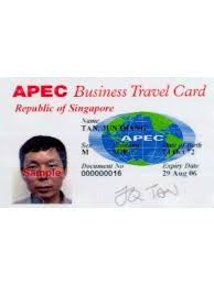 Apec Business Travel Card For Singapore