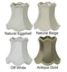 00765 chandelier mini scallop bell 100 pure silk