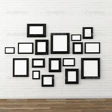 picture frames design elegance empty sides brick stock photoes taken diffe style picture frame wall