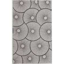 bowery hill 3 x 5 new zealand wool rug in dark brown