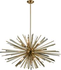 avenue lighting hf8203 ab palisades ave antique brass with champagne glass 39 375 nbsp pendant loading zoom