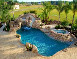 inground pools with diving board and slide. Furniture : Surprising Pool Inground Design Feature Artificial Pools With Diving Board And Slide