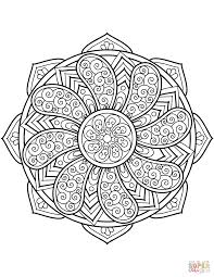 Flower Mandala Coloring Pages 23639 Hypermachiavellismnet