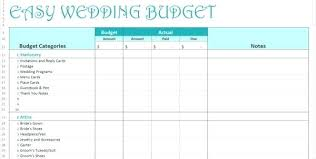 Wedding Planning Excel Spreadsheet Template Lapos Co