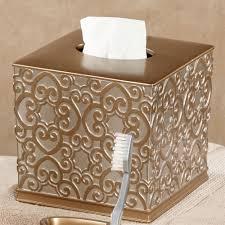 Allure Silver And Gold Bath Accessories