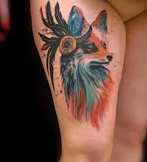 великолепные варианты татуировок на ноге для женщин Tu Baginyaru