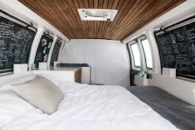 Converted Vans How I Converted A Rusty Cargo Van Into A Unique Mobile Studio