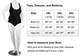 Image result for plus size sizing chart