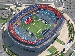Giants Stadium Virtual Seating Chart View Elcho Table
