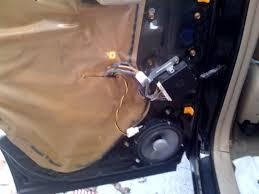 infinity 6032cf. upgrade rear door stock speakers-left-side-installed.jpg infinity 6032cf 6