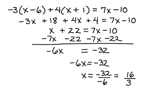 solve a multi step equation some