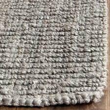 chunky rug casual natural fiber hand woven light grey chunky thick jute rug 2 chuckie rugrats