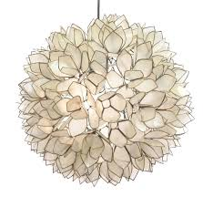 lotus flower chandelier by roost rol801