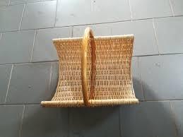 Holz Tragekorb Holzkorb