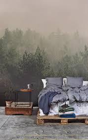 Slapen In Het Bos De Mooiste Slaapkamers Met Fotobehang Eigen