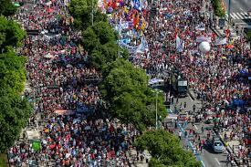 المظاهرات تعم البرازيل لإقالة بولسونارو | برازيل