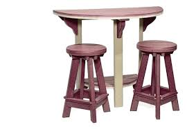 round bar table and stools height with back round glass pub table
